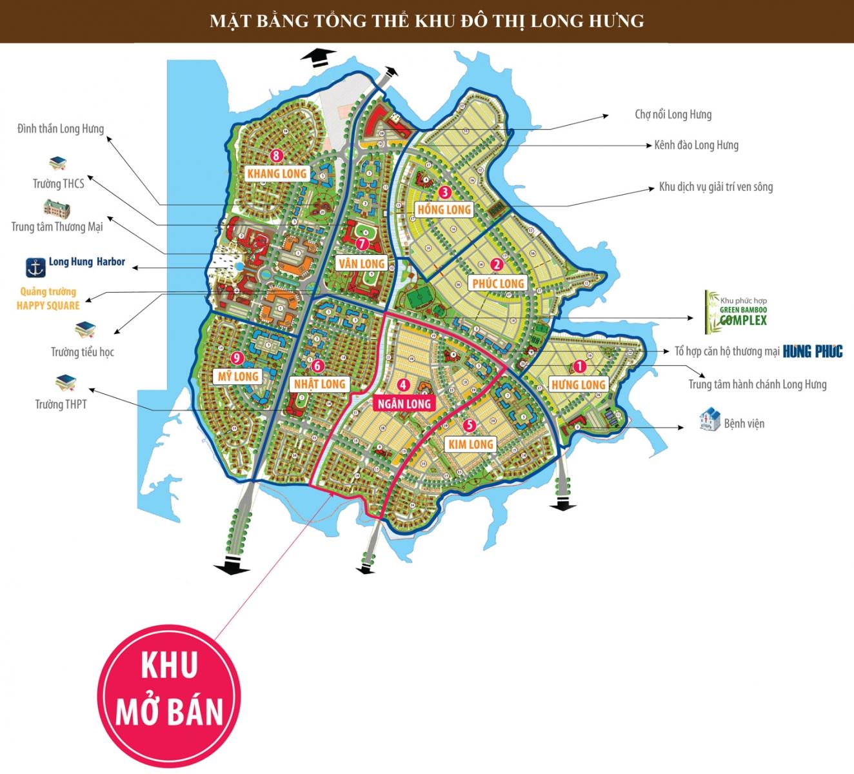 Khu 4 Long Hưng City