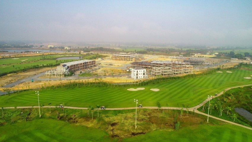Hình ảnh thực tế tại West Lakes Golf Villas