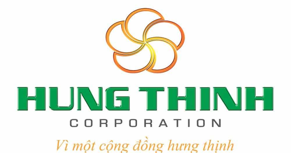 logo bất động sản Hưng Thịnh