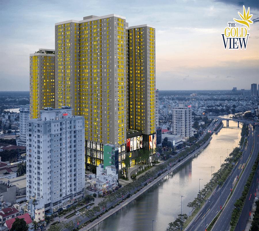 Dự án chung cư bên sông - Gold View quận 4